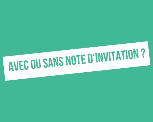 message d'invitation sur LinkedIn