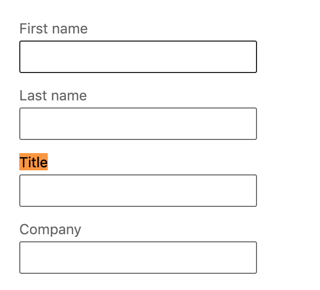 """Use """"title"""" to qualify your prospect"""