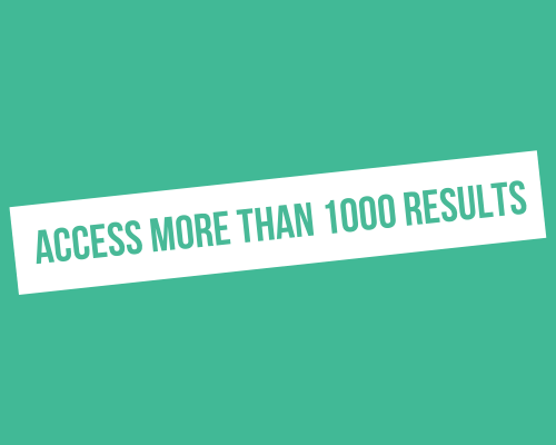 How to access more than 1000 results in a LinkedIn search