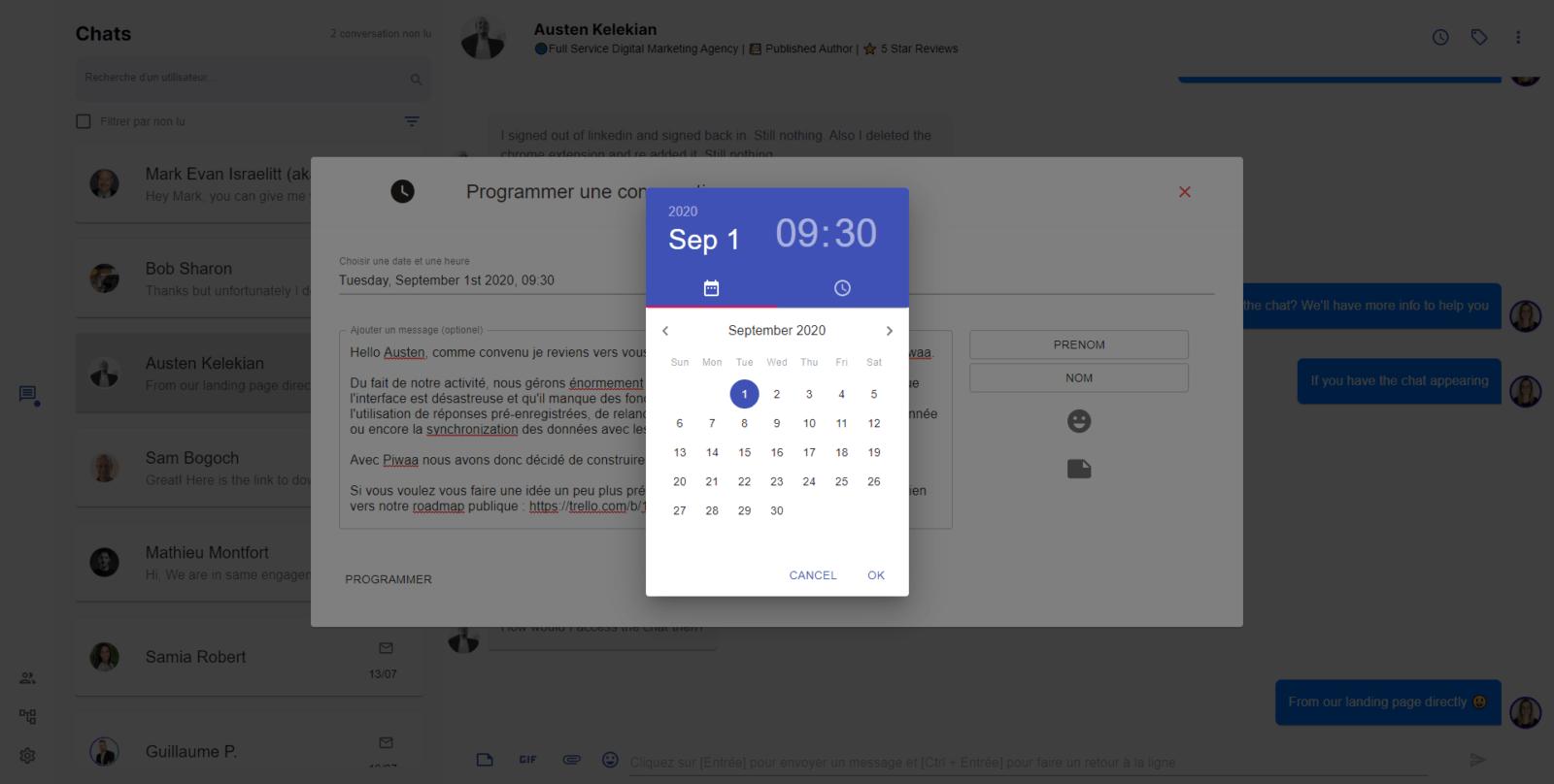 linkedin automatic reminder