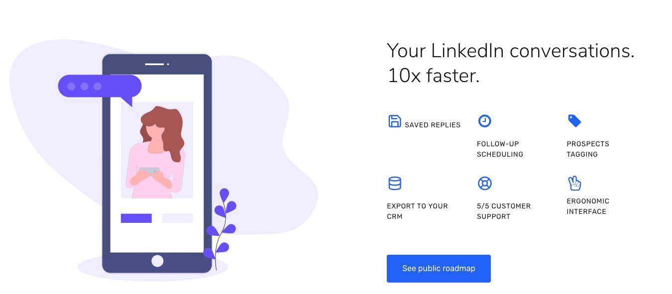 Piwaa feature new linkedin inbox