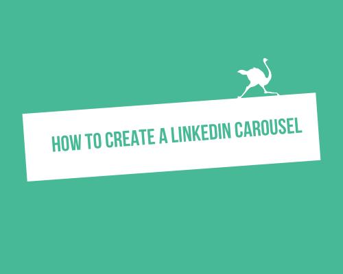 How to create a LinkedIn carousel